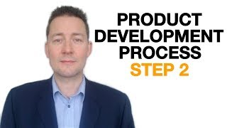 Product Development Process - Target Market, Step 2