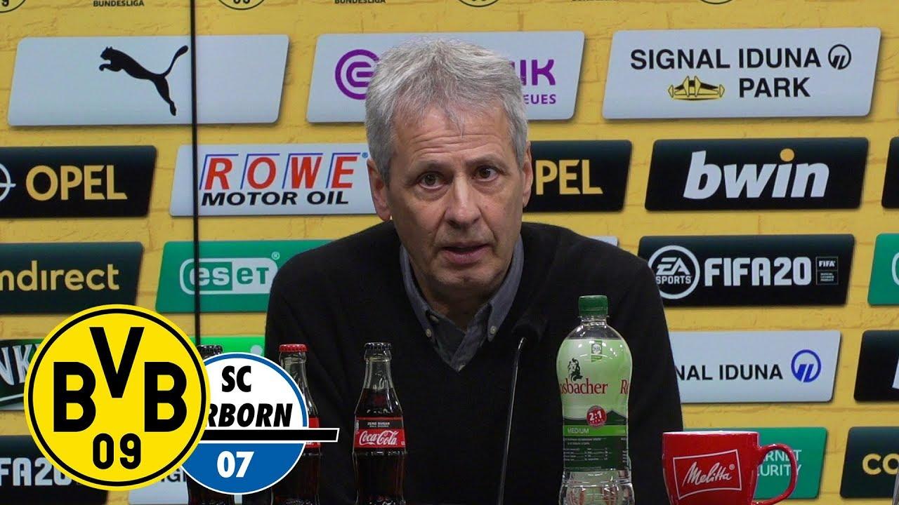 Pressekonferenz nach dem Spiel | BVB - SC Paderborn | 3:3