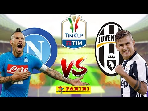 ⚽ NAPOLI vs JUVENTUS 3-2 | 5.4.17 | COPPA ITALIA Calciatori 2016/17