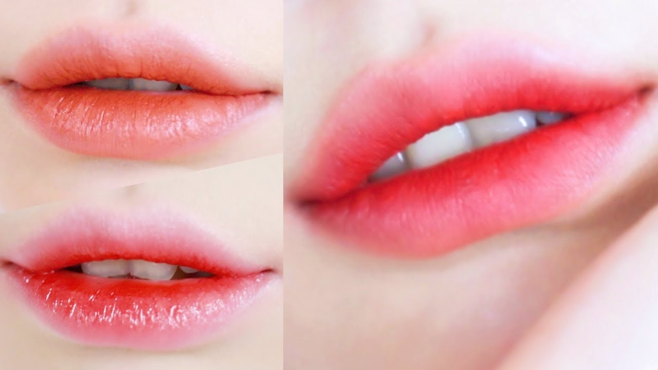 How To Make Gradient Lips Youtube