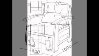 Кресло кровать чертеж(Кресло кровать чертеж http://kresla.vilingstore.net/kreslo-krovat-chertezh-c010560 Широкий ассортимент кроватей. Акции. Бесплатная..., 2016-06-09T10:26:09.000Z)