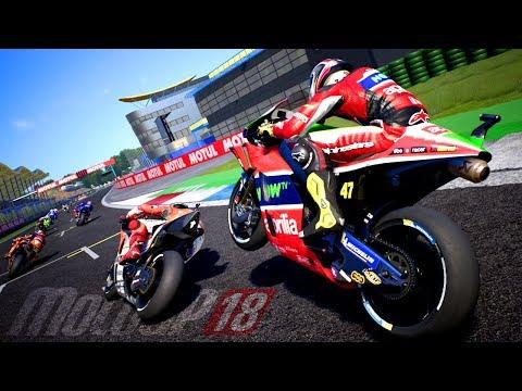 LOTTA CON LORENZO E ROSSI - MotoGP 18 Carriera Nu Rossi