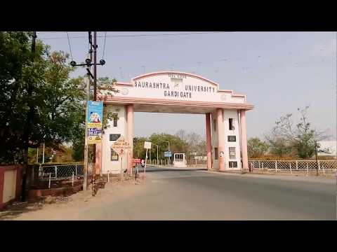 Saurashtra University - A Quick Campus Tour of It's Different Departments.(Government University)