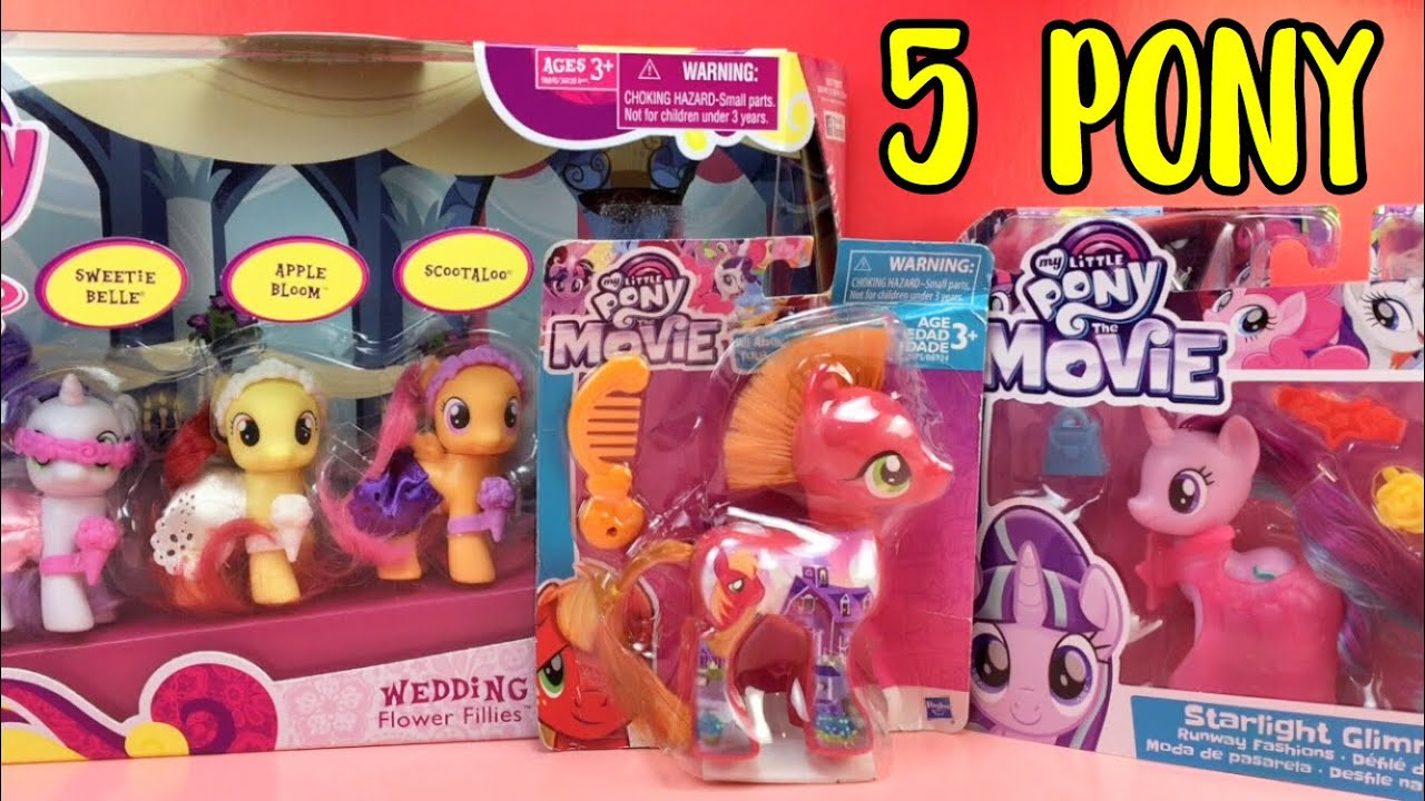 Toy Review 4 / Pony Açılımı : Wedding Flower Fillies