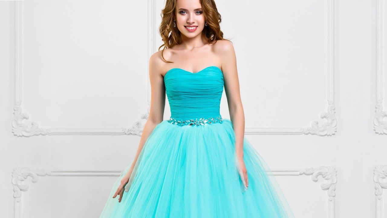 9db254da085 Пышное вечернее платье на выпускной бал - YouTube