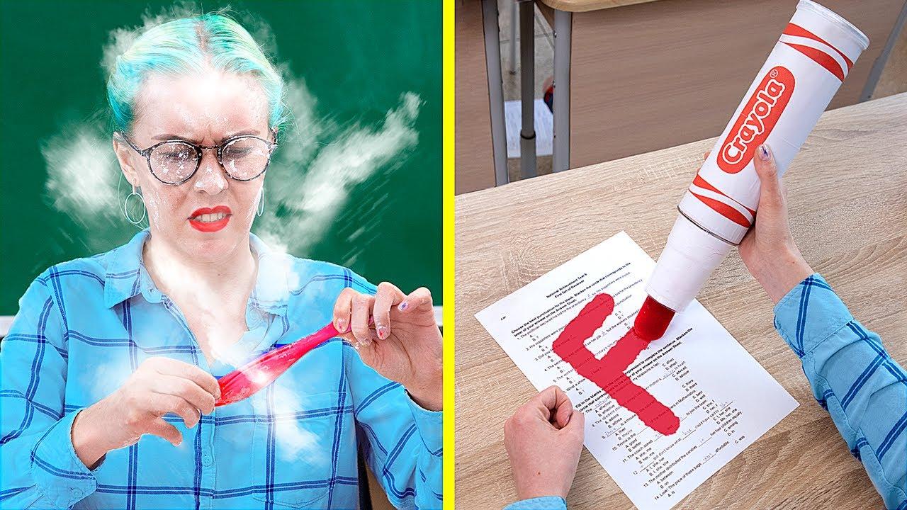 8种偷带压力释放器进入课堂的独特的方法!抗压力大学学习用品~~