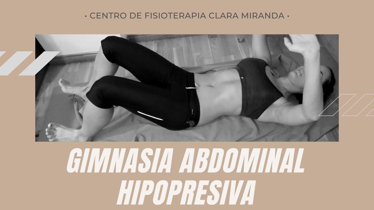 Clase de gimnasia abdominal hipopresiva