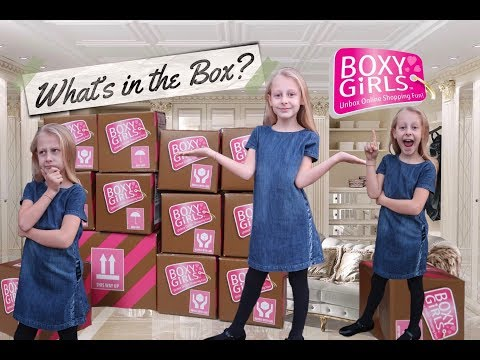 WHATS IN THE BOX ? BOXY GIRLS TOY SURPRISE