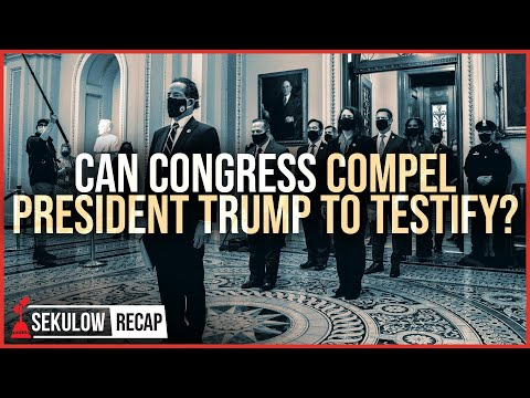Can Congress Compel President Trump to Testify in Unconstitutional Impeachment Trial?
