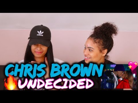 Chris Brown - Undecided (Official Video) REACTION/REVIEW