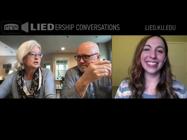 Volunteer ushers—LIEDership Conversation