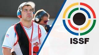 Interview with Alexey ALIPOV (RUS) - 2015 ISSF Rifle, Pistol, Shotgun World Cup in Gabala (AZE)