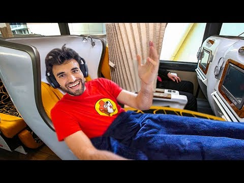 WORLDS BEST FIRST CLASS BUS SEAT (Luxury For Cheap)!