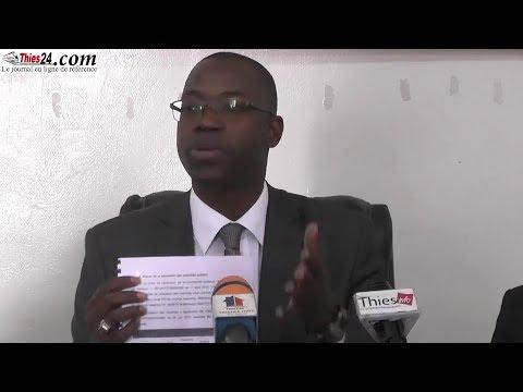 diattara cogne le ministre mame mbaye niang Thiès 15-01-2018