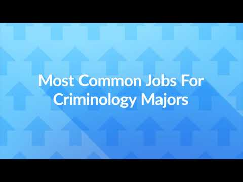 12 Jobs For Criminology Majors