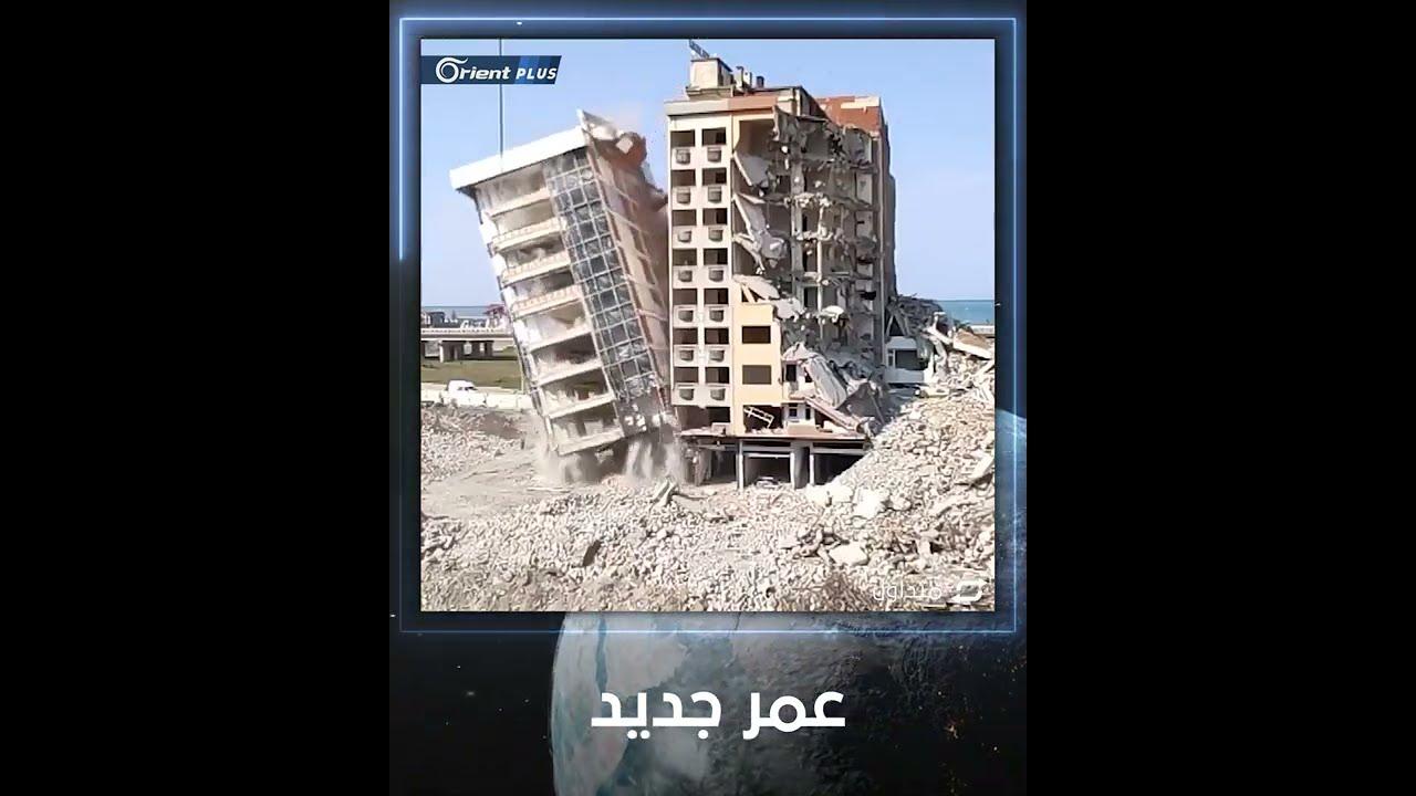 لحظات تحبس الأنفاس.. نجاة خيالية لعامل بناء أثناء هدم أحد المباني في مدينة ريزا التركية  - 12:57-2021 / 4 / 5