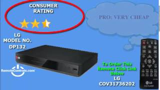 Review LG DVD Player With Flexible USB & DivX Playback - DP132