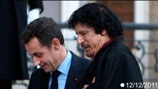 Sarkozy Kaddafi'nin finansman sağladığı iddialarını yalanladı