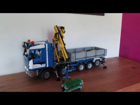 lego technic moc camion grue 2. Black Bedroom Furniture Sets. Home Design Ideas