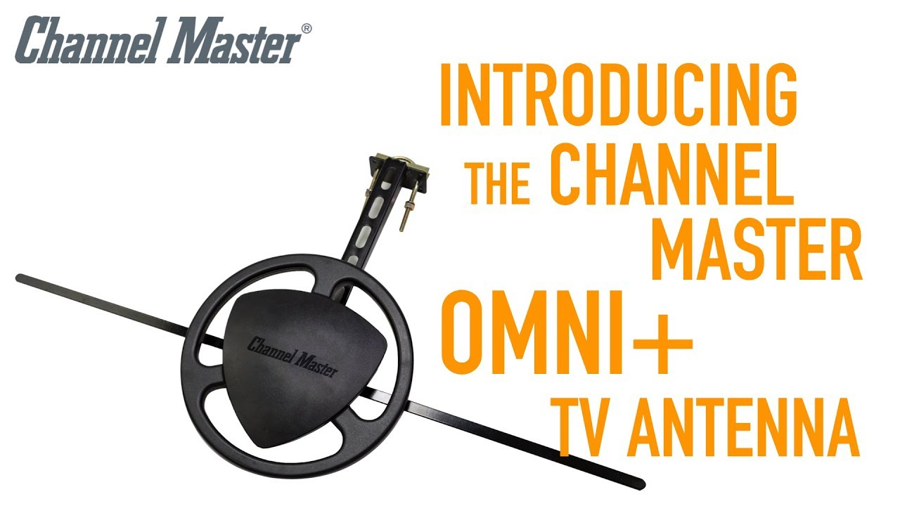 Channel Master | Introducing OMNI+ - New Omnidirectional Outdoor TV Antenna  [CM-3011HD]