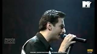 Depeche Mode - A Question Of Time [The Singles Tour - 05.10.1998, Cologne, Germany]
