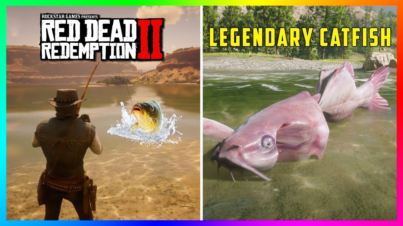 The Legendary Channel Catfish Has Finally Been FOUND In Red Dead Redemption 2! (Mystery Solved)