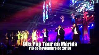 Concierto en Mérida de los 90s Pop Tour