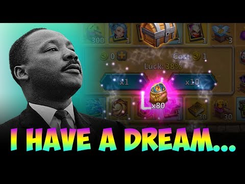JT's Main MLK Rewards Events NEW TEAMS! Castle Clash