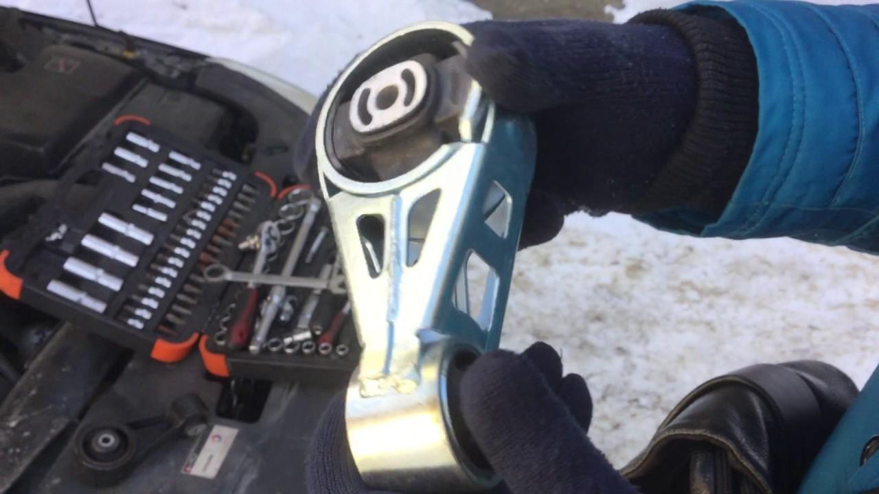 замена опор двигателя ситроен с5