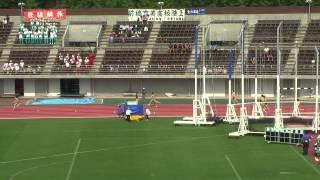 H24南関東大会 女子マイル決勝 大会新記録 白梅学園