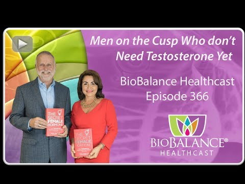 Men On The Cusp Who Don't Need Testosterone Yet