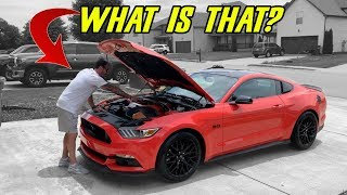 FRIEND BOUGHT A 2016 MUSTANG GT - BUT HE DIDN'T KNOW IT HAD THESE