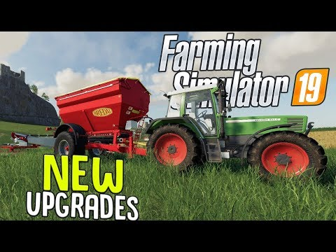 Farming Simulator 19 - New Field Farming Equipment - Spreading Lime - Farming Sim 19 Gameplay