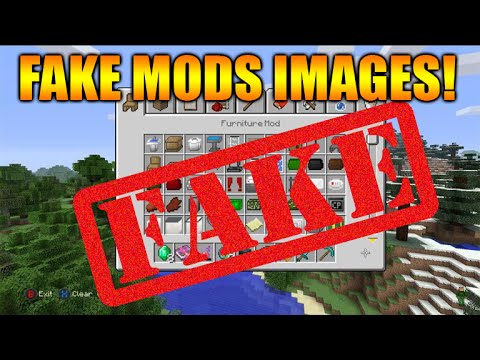 ☆minecraft xbox 360 + ps3: new furniture mod fake images +