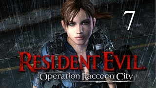 Resident Evil Operation Raccoon City Walkthrough - Part 7 [Mission 3] Lights Out PS3 XBOX PC