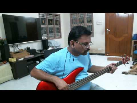 Bass Cover For Oxygen Song From Kavan Movie