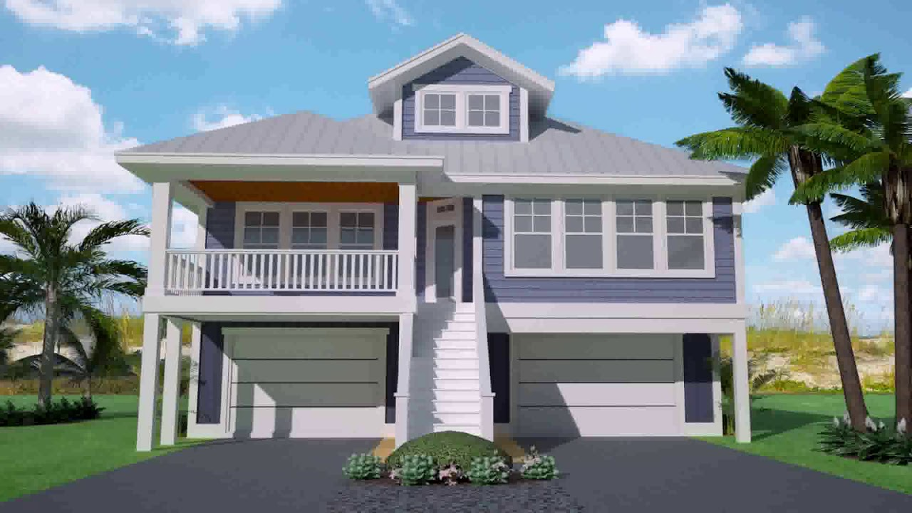 Beach House Plans With Garage Underneath Gif Maker