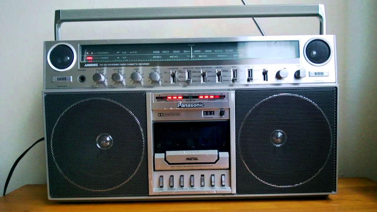 Panasonic rx 5250 vintage ghettoblaster boombox run dmc jay 39 s game youtube - Ghetto blaster acheter ...