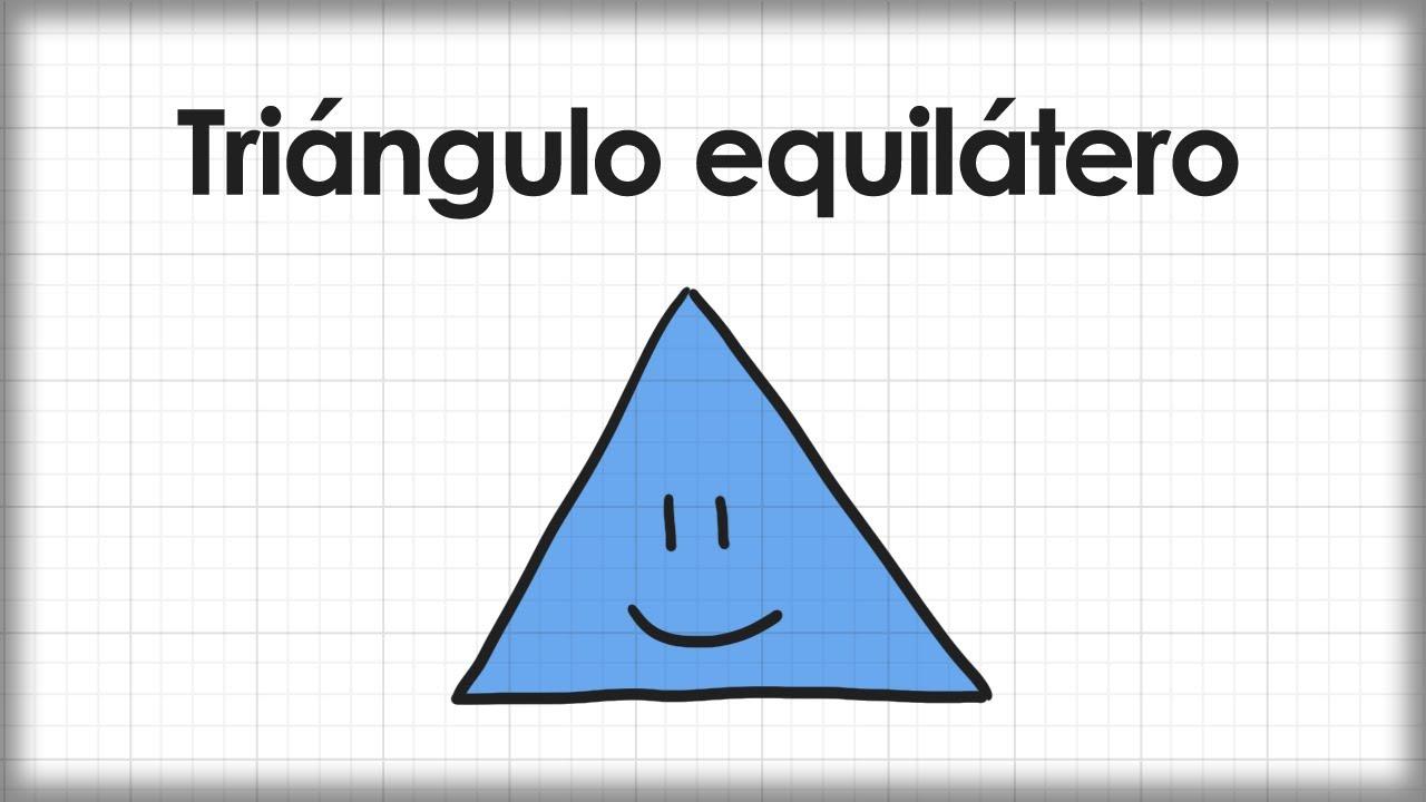 Triángulo equilátero - YouTube