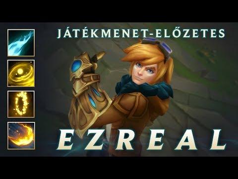 Ezreal – Játékmenet-előzetes   League of Legends