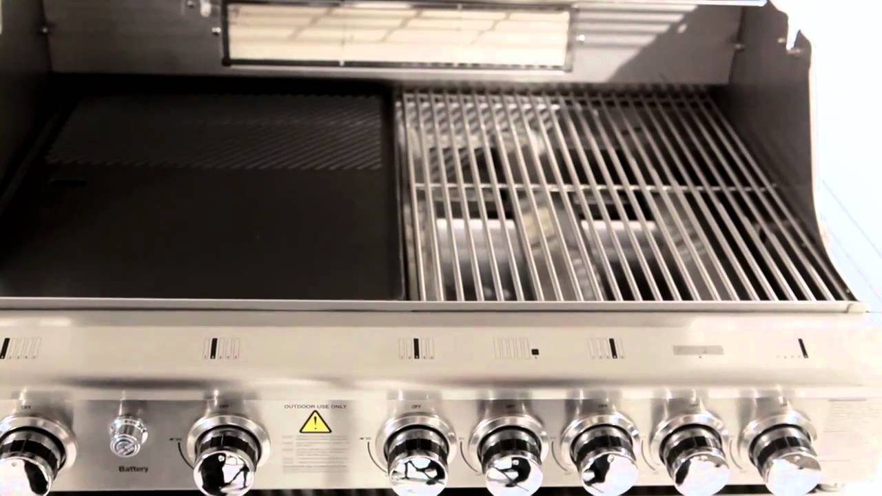 Barbeques galore cucina professional 5 burner youtube - Barbecue in cucina ...