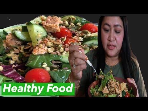 MUKBANG : Tuna Salad Recipe | Healthy Food |  Quick and Easy | ShaSha Kolme Vlog