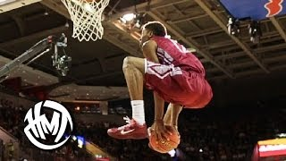 Marcus Lewis Has BOUNCE! Wins The 2014 College Dunk Contest!