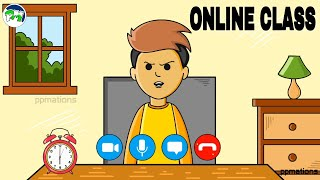 Online class | part 2 | online class comedy | victers | ppmations