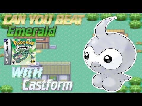 Can You Beat Pókémon Emerald With Castform? (Monotone ASMR)