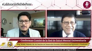Tema: Conforman Comité de la Red de Salud Mental Universitaria
