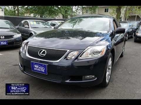 2007 Lexus GS 350 AWD Sedan