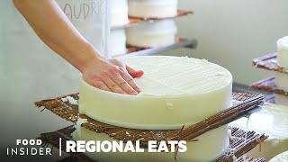 How Brie De Meaux Cheese Is Made In France  Regional Eats