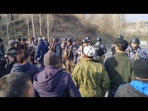 Стрельба на границе Таджикистана и Кыргызстана | АЗИЯ