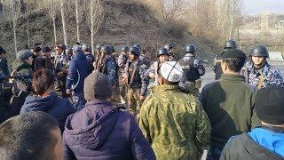 Стрельба на границе Таджикистана и Кыргызстана   АЗИЯ